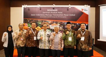 STANDAR JAMINAN PRODUK HALAL MENJADI JALAN INDONESIA MENUJU TRENDSETTER PASAR GLOBAL